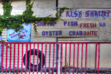 USA  Florida  Apalachicola  Old Oyster House on Apalachicola Bay