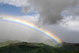 Rainbow over Monteverde Cloud Forest  Puntarenas Province  Costa Rica