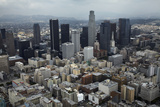 Aerial View of Downtown Los Angeles