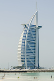 Jumeirah Beach with Burj Al Arab Hotel Dubai  United Arab Emirates