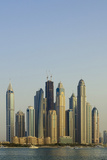 Skyline of Buildings around the Dubai Marina  Dubai  Uae