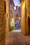 Sunset around Scorcio Nei Pressi Di Santa Maria Maggiore Assisi