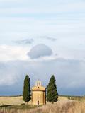 Italy  Tuscany  San Quirico Dorcia the Vitaleta Chapel