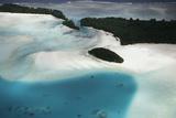 Micronesia  Palau  Ariel View of Rock Islands