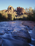Sedona  Cathedral Rock Reflecting in Oak Creek at Red Rock Crossing