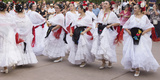 New Mexico  Santa Fe Hispanic Folkloric Dance Group  Bandstand 2014