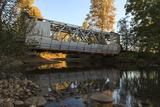 Oregon  Larwood Wayside  Larwood Bridge During Restoration Work