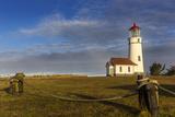 Oregons Oldest Lighthouse at Sunrise at Cape Blanco State Park  Oregon