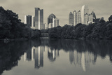 Georgia  Atlanta  City Skyline from Piedmont Park