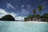 Palau  Honeymoon Island  Rock Islands