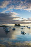 Maine  Newagen  Sunset Harbor View by the Cuckolds Islands