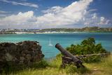 Fort Louis Overlooking Marigot Bay  Marigot  Saint Martin  West Indies