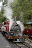 Australia  Dandenong Ranges Puffing Billy  Vintage Steam Train