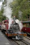 Australia  Dandenong Ranges Puffing Billy  Vintage Steam Train
