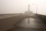Minnesota  Duluth  Canal Park  Ship Canal in Fog