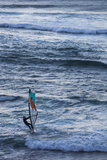 Southwest Australia  Prevelly  Surfers Point  Windsurfers  Dusk