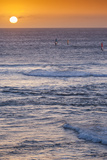 Southwest Australia  Prevelly  Surfers Point  Windsurfers  Dusk