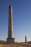 Australia  Burra  Former Copper Mining Town  Burra Mine  Smokestack