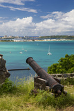 Fort Louis Overlooking Marigot Bay  Marigot  Saint Martin  West Indies