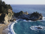 California  Big Sur Coast  Julia Pfeiffer Burns Sp  Mcway Falls