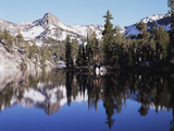 California  Inyo Nf  Mammoth Lakes  Reflection in Skelton Lake