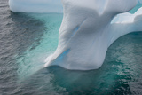 Antarctica Argentine Islands Unusually Shaped Iceberg