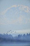Airshow Blue Angels  Seafair Celebration  Seattle  Washington