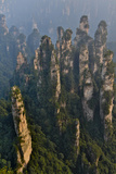 China  Hallelujah Mountains  Wulingyuan  Landscape and Many Peaks