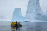 Antarctica Charlotte Bay Zodiac Cruising around Icebergs