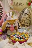 Australia Easter Display of Holiday Chocolate Eggs and Easter Bunny