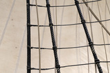 Canada  BC  Victoria Rigging and Sails on the Hms Bounty
