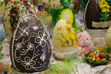 Australia Easter Display of Decorated Chocolate Eggs and Candy
