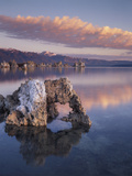 California  Sierra Nevada  a Tufa Formation on the Shore of Mono Lake