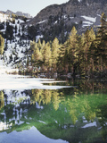 California  Inyo Nf  Emerald Lake in the Mammoth Lakes Basin