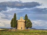 Europe  Italy  Tuscany  San Quirico Dorcia the Vitaleta Chapel
