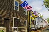 Colonial Architecture in Historic Annapolis  Maryland