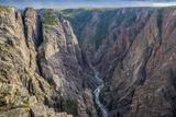 Colorado  Gunnison National Park Scenic in Black Canyon