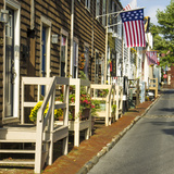 Colonial Architecture in Historic Annapolis  Md