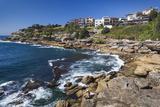 Australia  Sydney  Bondi Beach  Rocky Shoreline