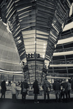 Germany  Berlin  Reichstag  Dome Interior  Evening
