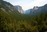USA  California  Yosemite National Park  Tunnel View of El Capitan and Half Dome