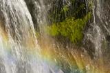 Rainbow  Narada Falls  Mount Rainier National Park  Washington  USA