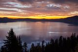 Sunrise  Crater Lake National Park  Oregon  USA