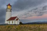 Oregons Oldest Lighthouse at Cape Blanco State Park  Oregon USA