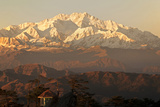 India  West Bengal  Singalila National Park  Sandakfu  Snowcapped Kangchenjunga
