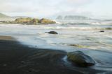 Wa  Olympic National Park  Rialto Beach  Sea Coast  with James Island