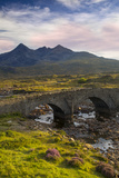 Stone Bridge over River Slichagan  Slichagan  Isle of Skye  Scotland