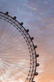 England  London  London Eye  Sunrise