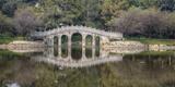 Chinese Bridge over Green Lake in Kunming  China