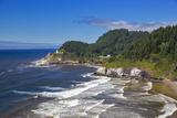 Heceta Head Lighthouse Near Florence  Oregon  USA